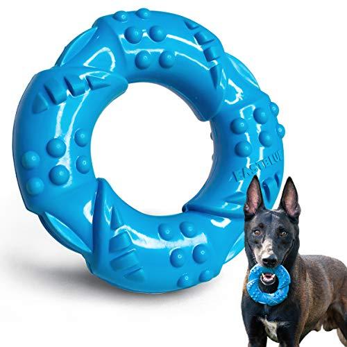 EASTBLUE Hunde-Kauknochen-Spielzeug für Aggressive Kauer:...