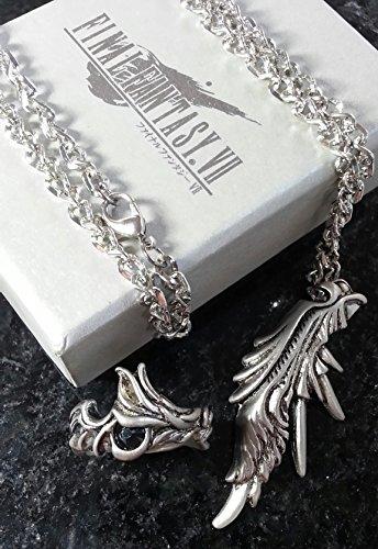 Final Fantasy VII Sephiroth Ring & Halskett Necklace | FF7...