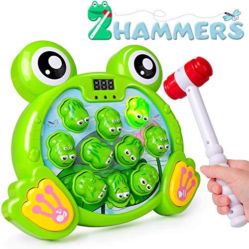Rolimate Interaktives Spiel Hammerspiel Spielzeug, Whack A Frog...