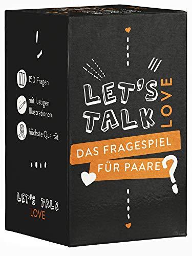 Let's Talk Love - Paar Spiel - Das Beste Fragespiel für Paare...