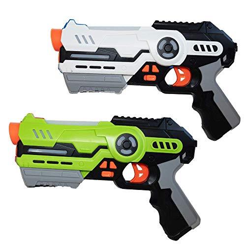 Laser Tag Game Set mit 2 Laserpistolen - Spiel für Kinder ab 8...