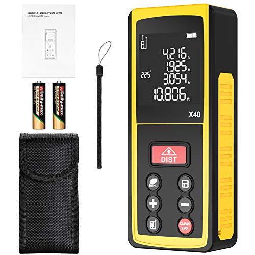 Entfernungsmesser, Laser Entfernungsmesser mit LCD...