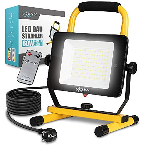 ExcelsiorLight – Premium LED Baustrahler [60W] – IP65...