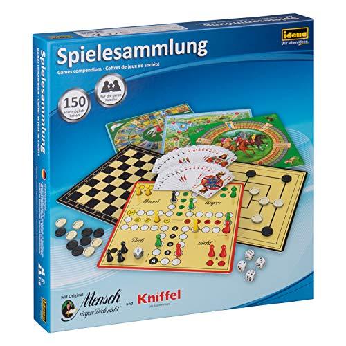 Idena 6102589 - Spielesammlung mit 150 Spielmöglichkeiten,...
