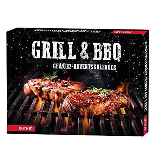 ROTH Gewürz-Adventskalender Grill & BBQ 2021 gefüllt mit 24...