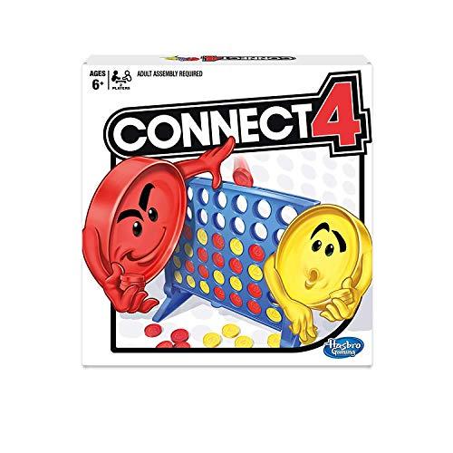 Hasbro Gaming Connect 4 Spiel mit Haftnotizblock