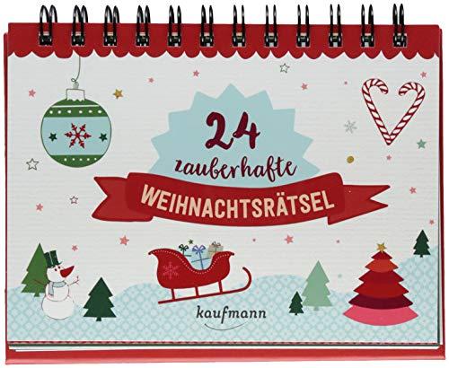 24 zauberhafte Weihnachtsrätsel (Adventskalender für...