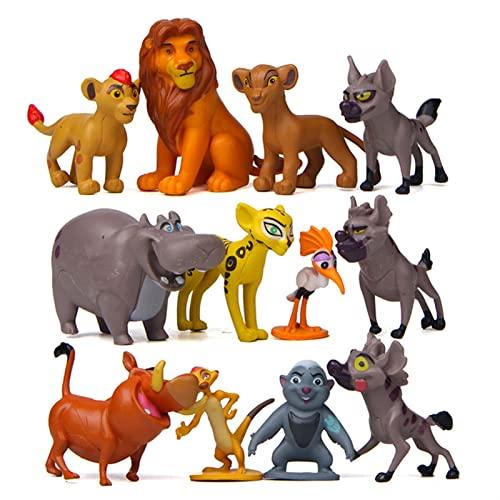 Yongpeng Actionfiguren 12 Teile/Satz Film The Lion King Simba...