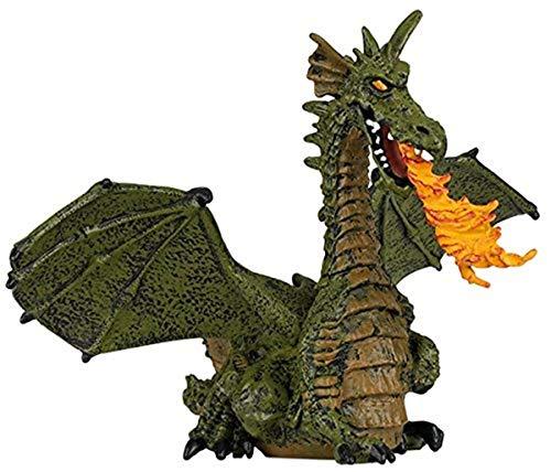 Papo 39025 - Feuerspeiender Drache mit Flügeln, Spielfigur,...