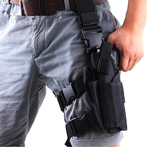 Gexgune Taktische Linkes Beinholster Pistolenholster...