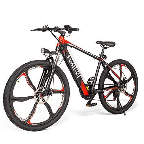 SAMEBIKE Ebike Elektrisches Mountainbike, 26 Zoll Mountainbike...