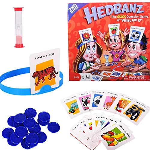 Yisily Gesellschaftsspiel,was Bin Ich Familie Kartenspiel für...