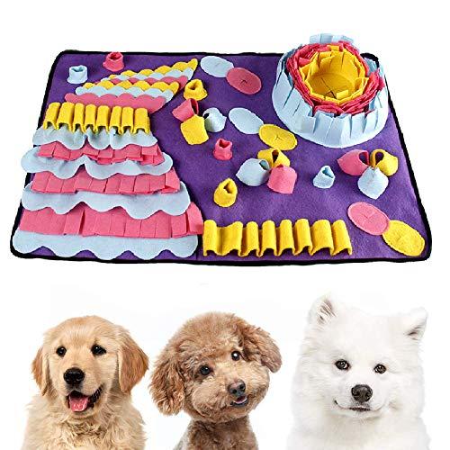 Einesin Hund schnüffelteppich intelligenzspielzeug, 70X50cm...