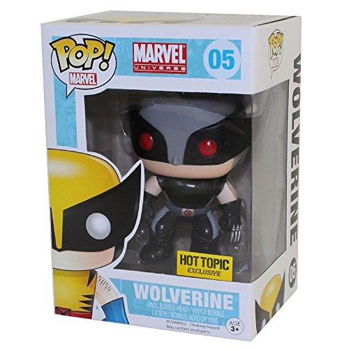 Wolverine X-Men Wackelkopf Figur exklusive Marvel Superhelden...