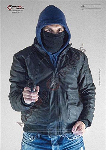 Stück Realistische Mann-Schieß Zielscheiben.Taktische CQB IPSC Polizeiausbildung. Räuber mit...