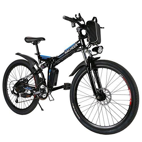 ANCHEER E-Bike Elektrofahrräder E Klapprad , 36V Akku, 26 ''...