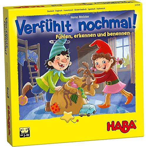 HABA 304508 – Verfühlt nochmal!, Fühlspiel für Kinder ab 3...