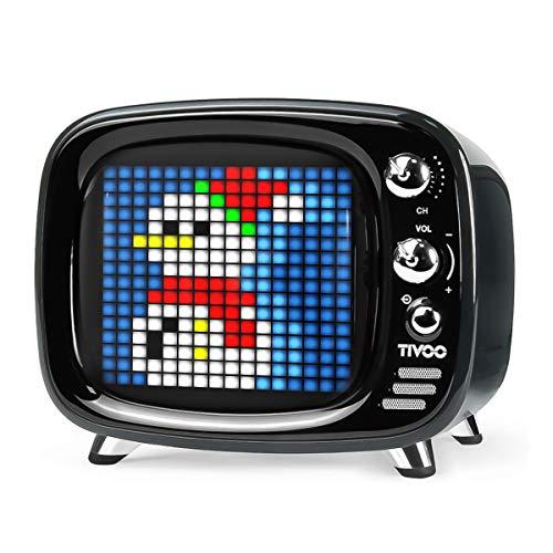 Divoom Tivoo Retro Bluetooth Lautsprecher - Pixel Art DIY Box, RGB programmierbar...