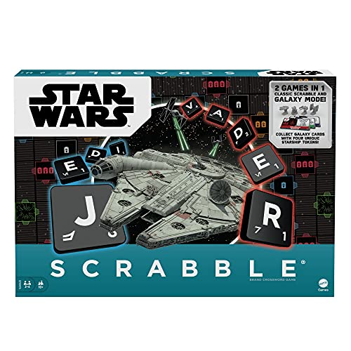 Mattel Games HBN60 - Scrabble Star Wars, Familienspiele und...