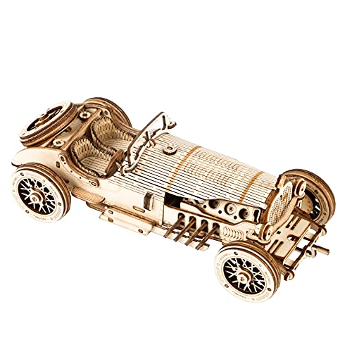 Robotime 3D Holz Puzzle Erwachsene Modellbausätze Grand Prix...