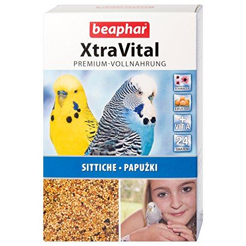 beaphar XtraVital Sittich Futter | Leckeres Futter für Sittiche...