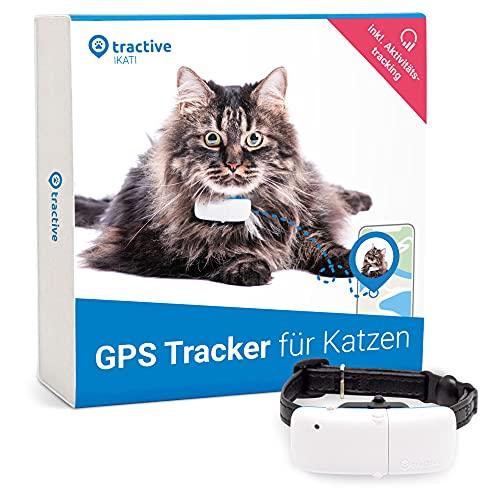 Tractive GPS Tracker für Katzen (2021) mit Halsband. 24/7...
