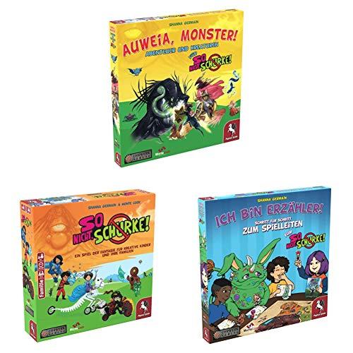 Pegasus Spiele 49001G - So nicht, Schurke! - Auweia, Monster!...