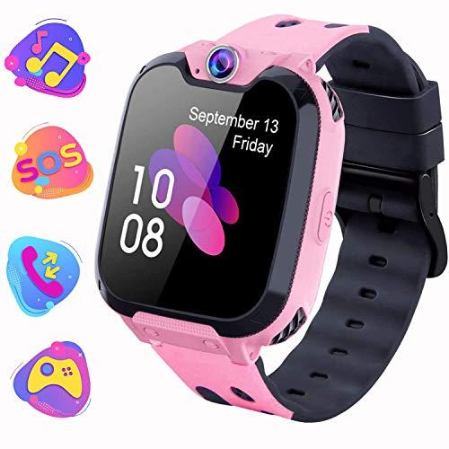 Kinder Smartwatch, Kind Uhr Telefon mit Zwei Wege Gespräch MP3...