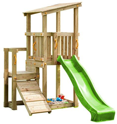Blue Rabbit 2.0 Spielturm CASCADE mit Rutsche 2,30 m +...