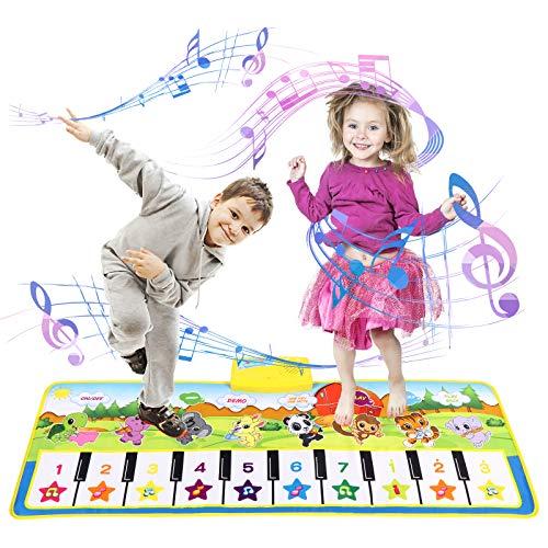 Kinder Klaviermatte Kleinkind Kinderspielzeug Mädchen Jungen, Touch Game Teppich Matte Jungen...