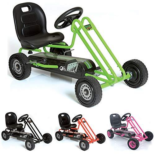 Hauck T90105 Lightning Go-Kart - Kinderfahrzeug, Reifen mit...
