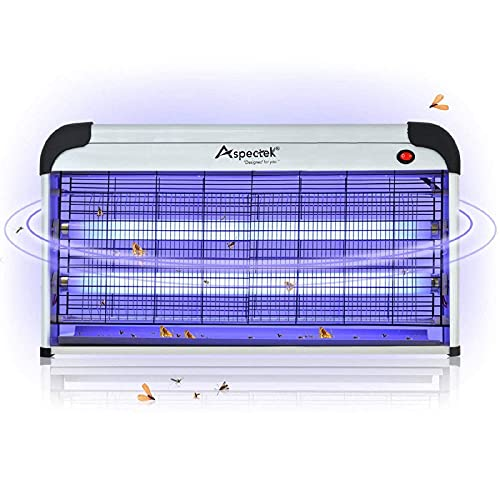 Aspectek Lampe Tötet Insekten Elektro, 30 W, UV Leuchtmittel...