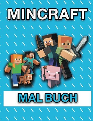 Mincraft-Malbuch: Über 60 Malvorlagen gefüllt mit...