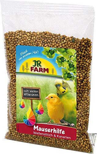 JR Farm Mauserhilfe für Wellensittich & Kanarien 30g