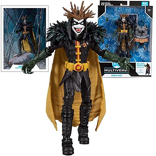 MIBHNJIAN Modell 17cm Superheld Death Metal Robin King Cartoon...
