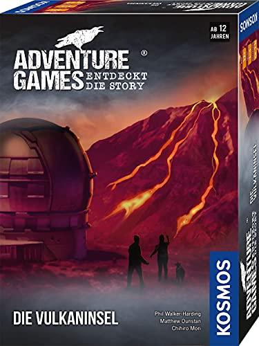 Kosmos 693169 - Adventure Games - Die Vulkaninsel, Entdeckt die...