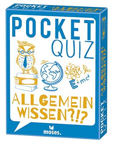Pocket Quiz Allgemeinwissen | 150 Fragen und Antworten für...
