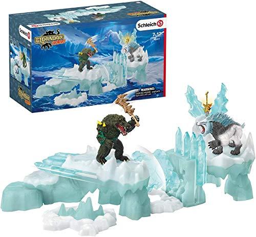 Schleich 42497 Eldrador Creatures Spielset - Angriff auf die Eisfestung, Spielzeug ab 7 Jahren
