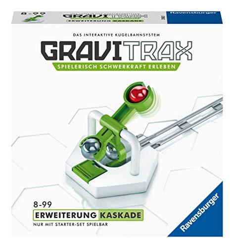 Ravensburger GraviTrax Erweiterung Kaskade - Ideales Zubehör für spektakuläre Kugelbahnen,...
