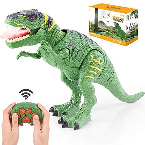 BAZOVE Leuchtend Ferngesteuert Dinosaurier Spielzeug, RC...