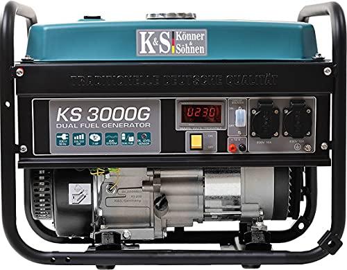 Hybrid Stromerzeuger Könner & Söhnen KS 3000G