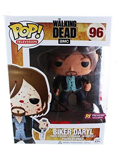 The Walking Dead Funko POP Vinyl Figure: Biker Daryl (Bloody PX...