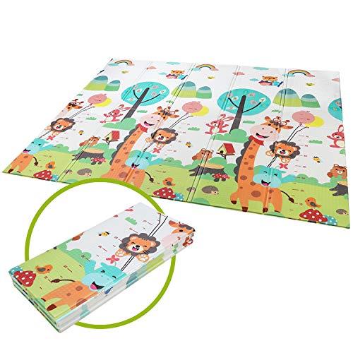 Bamny Spielmatte Baby Geruchlos Teppich Spielteppich Faltbarer...
