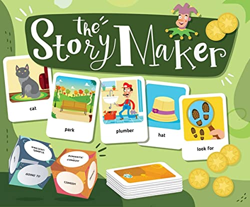 The StoryMaker. Gamebox mit 132 Karten + Download: Let's Play in...