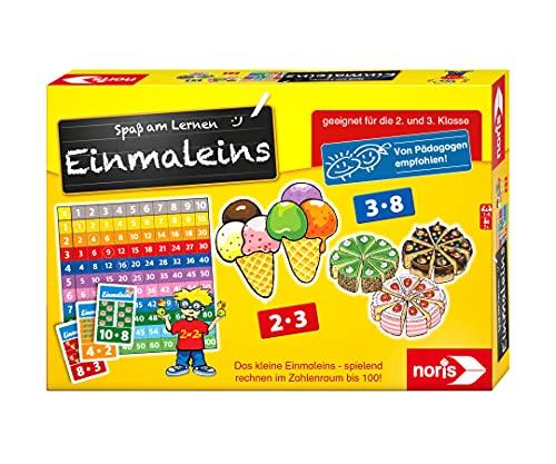 Noris 606076342 Spaß am Lernen, Kinder Lernspiel zum Einmaleins...