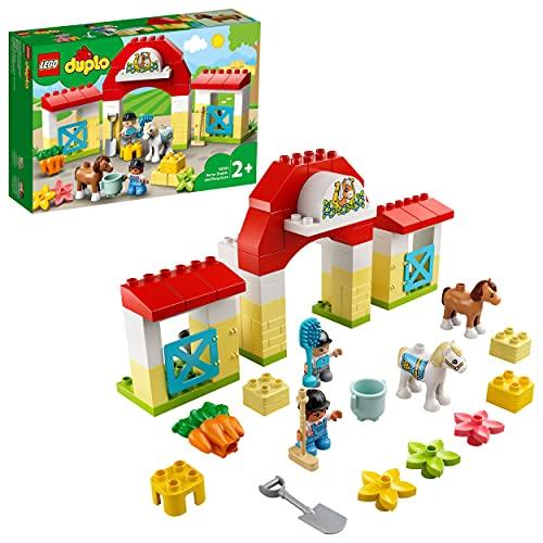 LEGO 10951 DUPLO Pferdestall und Ponypflege Kleinkinder Spielzeug...