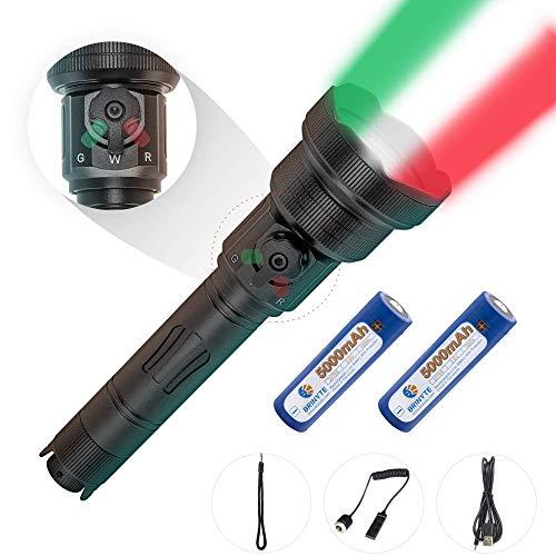 Brinyte T28 Taktische Taschenlampe für Jagd mit 3 Lichtarten des...