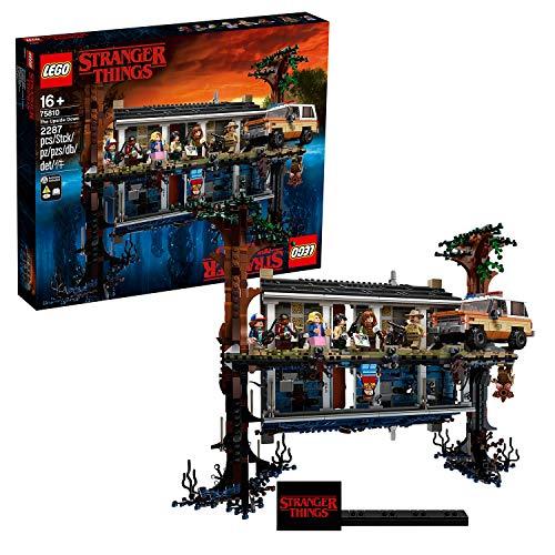 """LEGO 75810 """"Stranger Things - Die andere Seite"""", Bausatz mit..."""
