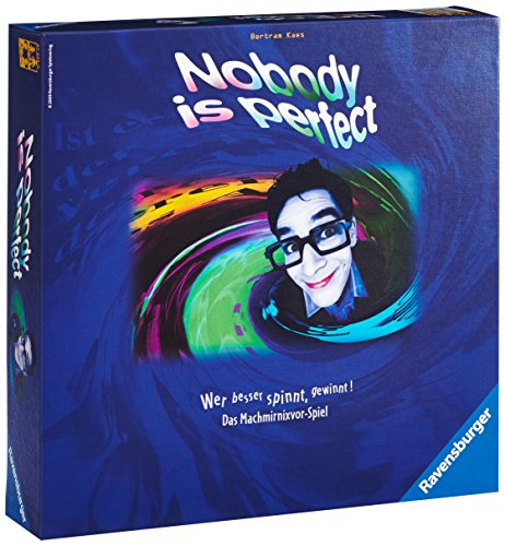 Ravensburger 4005556272259 Familienspiel Nobody is perfect,...