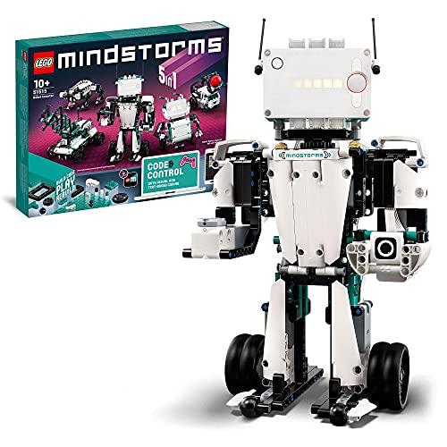 LEGO 51515 MINDSTORMS Roboter-Erfinder Robotik-Kit, 5-in-1...